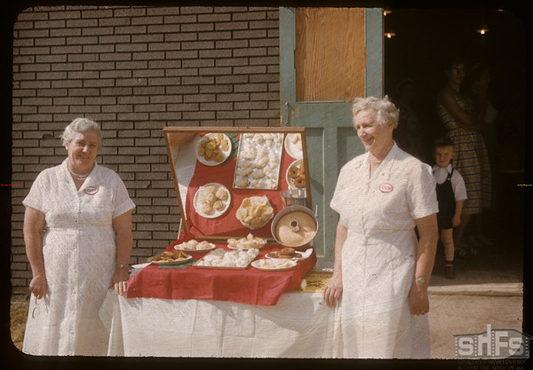 Co-op school baking.  Swift Current.  07/12/1956