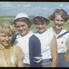 District 3 girls at Variety Plot Days at the Experimental Farm.  Swift Current.  08/19/1954