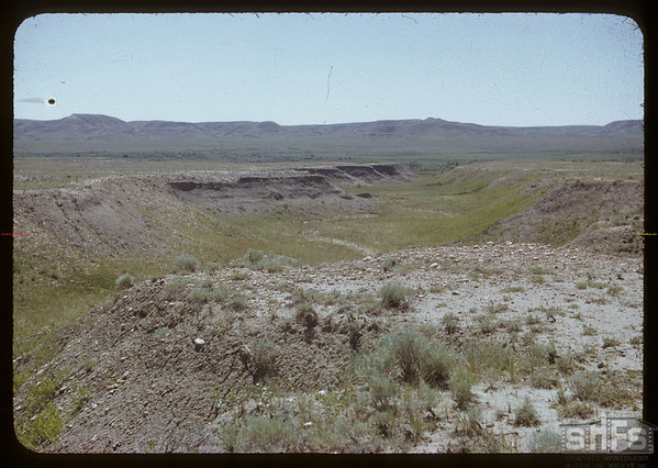 Arroyo - Doc Dixon's ranch on the White Mud river.  Val Marie.  07/05/1951