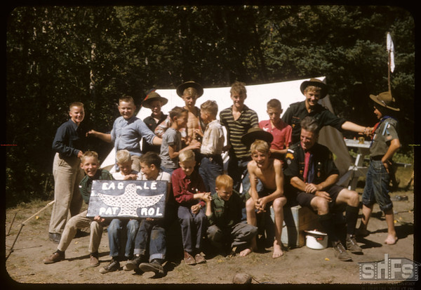 Eastend Boy Scouts.  South Fork.  08/24/1957