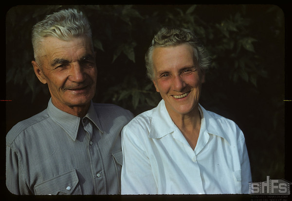 Mr & Mrs Richard J. DeCock.  Wood Mountain.  07/06/1954