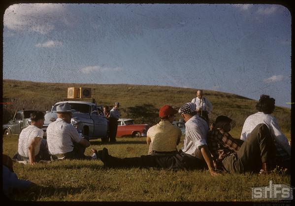 Co-op Women's Guild picnic at Rock Avon Park.  Shaunavon.  08/12/1956