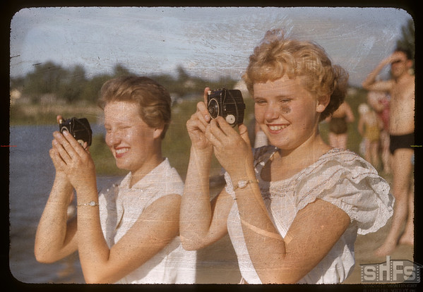 Pat Benjamin of Antelope and Leona Benston of Eastend.  Swift Current.  07/09/1956