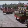 Shaunavon Fair Parade - Cockshutt Float.  Shaunavon.  07/26/1950