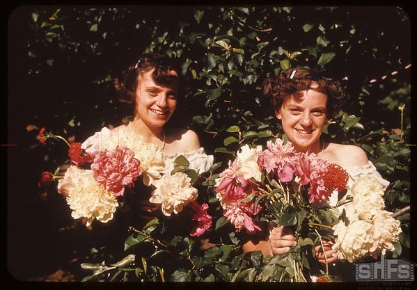 Margaret & Muriel Jamieson..  Shaunavon.  07/16/1950
