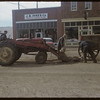 Town road maintenance.  Shaunavon.  10/09/1954