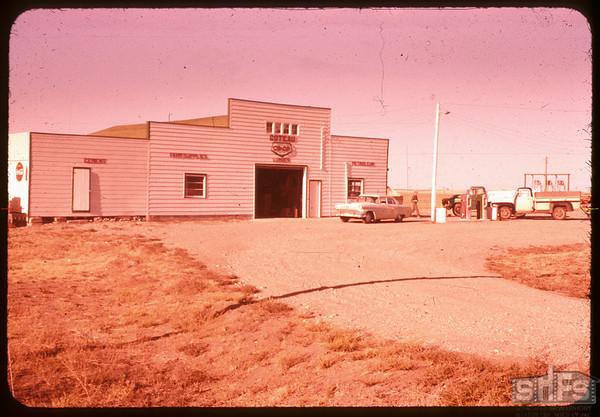 Wiseton co-op facilities.  Wiseton.