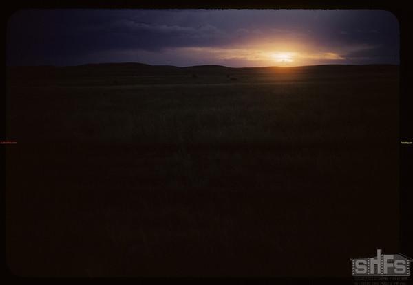 Prairie sunset. Admiral. 08/24/1954