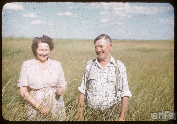 Mr & Mrs Hunter Smith.  Scotsguard.  08/09/1955