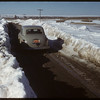 Winter road south  of Shaunavon..  Shaunavon.  04/05/1950