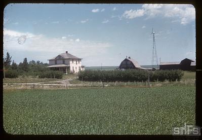 Albert Thompson home, Admiral,  07/06/1957
