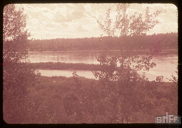 South Sask. river west of St. Louis.  St. Louis.  08/14/1953