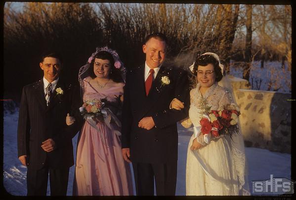 Gordon & Shirley Speirs - Alex Speirs and Anabelle McEwen.  Shaunavon.  11/21/1951