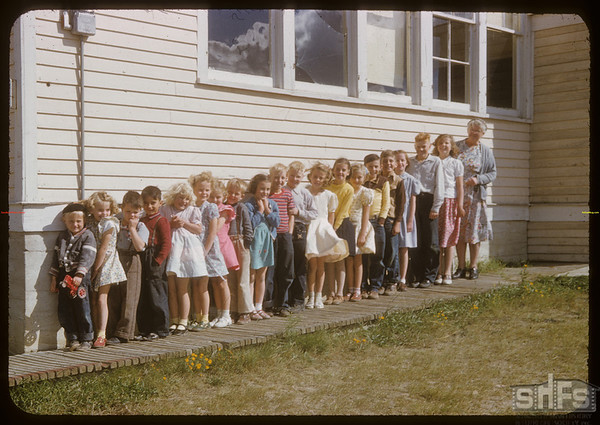 Scotsguard school and students.  Scotsguard.  09/11/1951