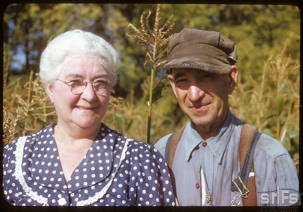 Mr & Mrs Roy Force.  Shaunavon.  09/22/1952