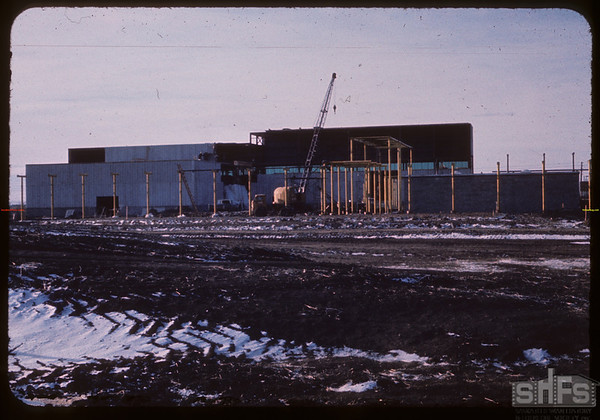 Constructing new chemical complex (date unknown).  Saskatoon.