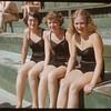 Shaunavon swimming pool - Jean Mitchell & Lousie & Ayalne Sandburn.  Shaunavon.  07/15/1951