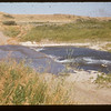 Cemet slab at Frenchman river crossing..  Knollys.  08/26/1955