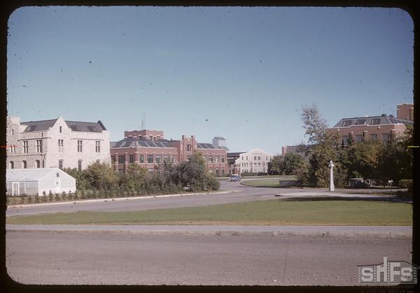 University of saskatchewan Campus.  Saskatoon.  09/11/1955
