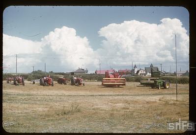 Machinery row - Admiral Jubilee, 08/05/1955