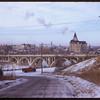View of Saskatoon from Nutana.  Saskatoon.  01/10/1953