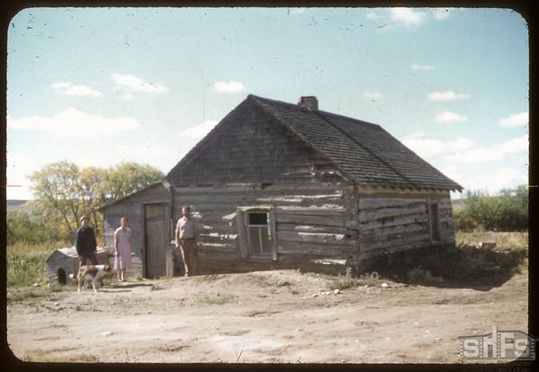 Old reid House Maurice Dordeau's.  South Fork.  09/13/1957