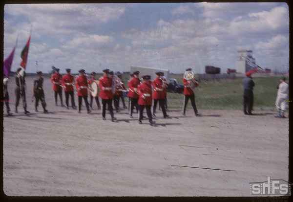 14th Hussar Band at Vacation Trail 6 Day.  Shaunavon.  06/24/1967