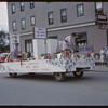 Shaunavon Jubilee Parade - Laundrymat Then & Now.  Shaunavon.  07/18/1963