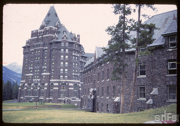 Banff Springs Hotel.  Banff.  07/18/1968