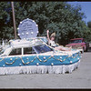 Rodeo Parade - Credit Union float.  Shaunavon.  07/20/1964