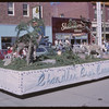 Rodeo Parade - Chandlers Bros. Construction float.  Shaunavon.  07/20/1964