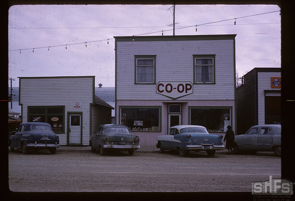 Co-op general store. Imperial. 04/01/1963