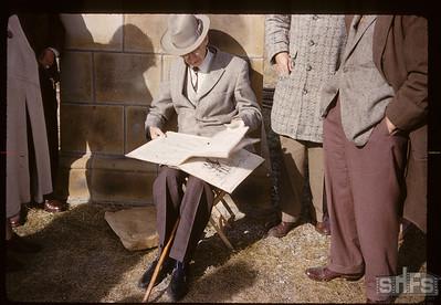 Campbell Innes at Cut Knife Hill. Battleford. 10/02/1960