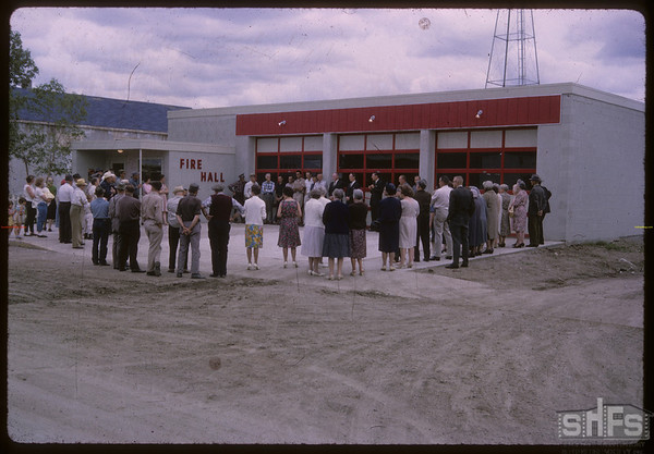 Official opening of Fire Hall.  Shaunavon.  06/14/1965