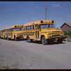 Shaunavon Jubilee - School Bus Train.	 Shaunavon. 07/17/1963