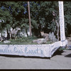 Rodeo Parade - Chandler's float 'Home on the Range'.  Shaunavon.  07/20/1964