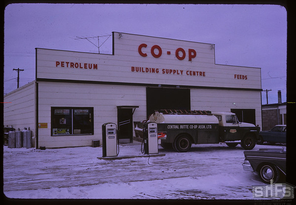 Co-op facilities. Central Butte. 03/01/1963