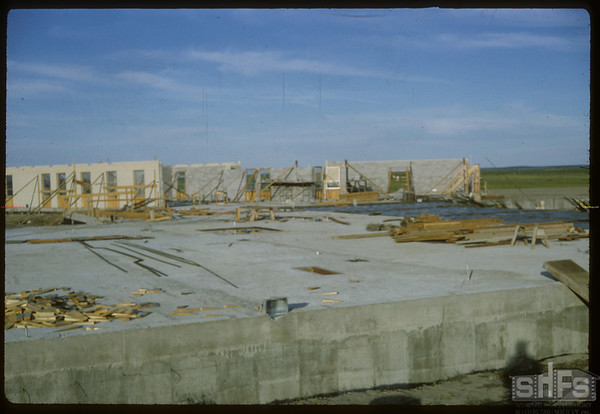 New Hospital under construction.  Shaunavon.  06/26/1966