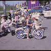 Rodeo Parade - young cyclists.  Shaunavon.  07/20/1964
