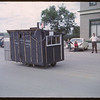 Shaunavon Jubilee Parade - John's Electric Float.  Shaunavon.  07/18/1963