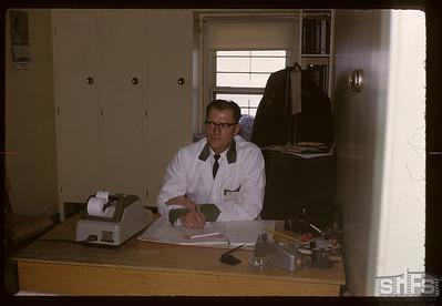 Dave Redekopp - general manager on opening day. Birsay. 02/01/1966
