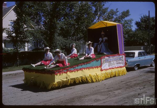 Rodeo Parade - Rodeo Queen.  Shaunavon.  07/20/1964