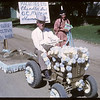 Rodeo Parade - Dixon Chandler and Prairie Dog Town.  Shaunavon.  07/20/1964
