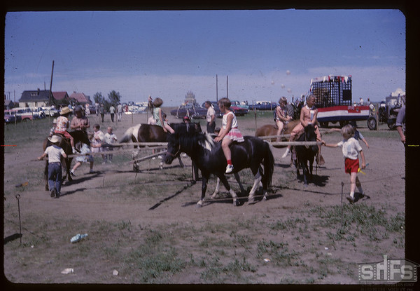 Aneroid's Jubilee - pony circle. Aneroid. 07/06/1963
