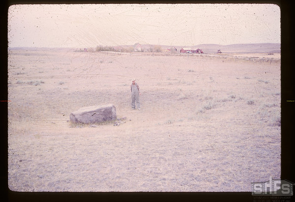 T. Buckley at Buffalo Wallow - 2 miles from US border. Frontier. 09/28/1961