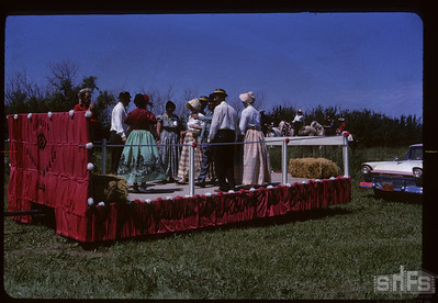 Aneroid's Jubilee parade - dancing Aneroid 07/06/1963