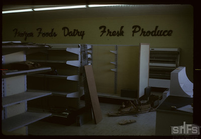 New store fixtures. Birsay. 02/01/1966