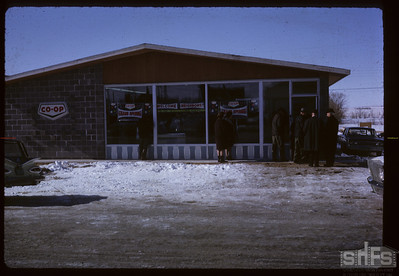 Official opening. Birsay. 03/01/1966