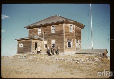 Eva M. Gaff home. Battle Creek. 10/14/1960