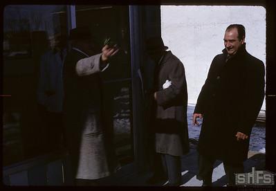 Ribbon cutting ceremony - Mr. Finch. Birsay. 02/01/1966